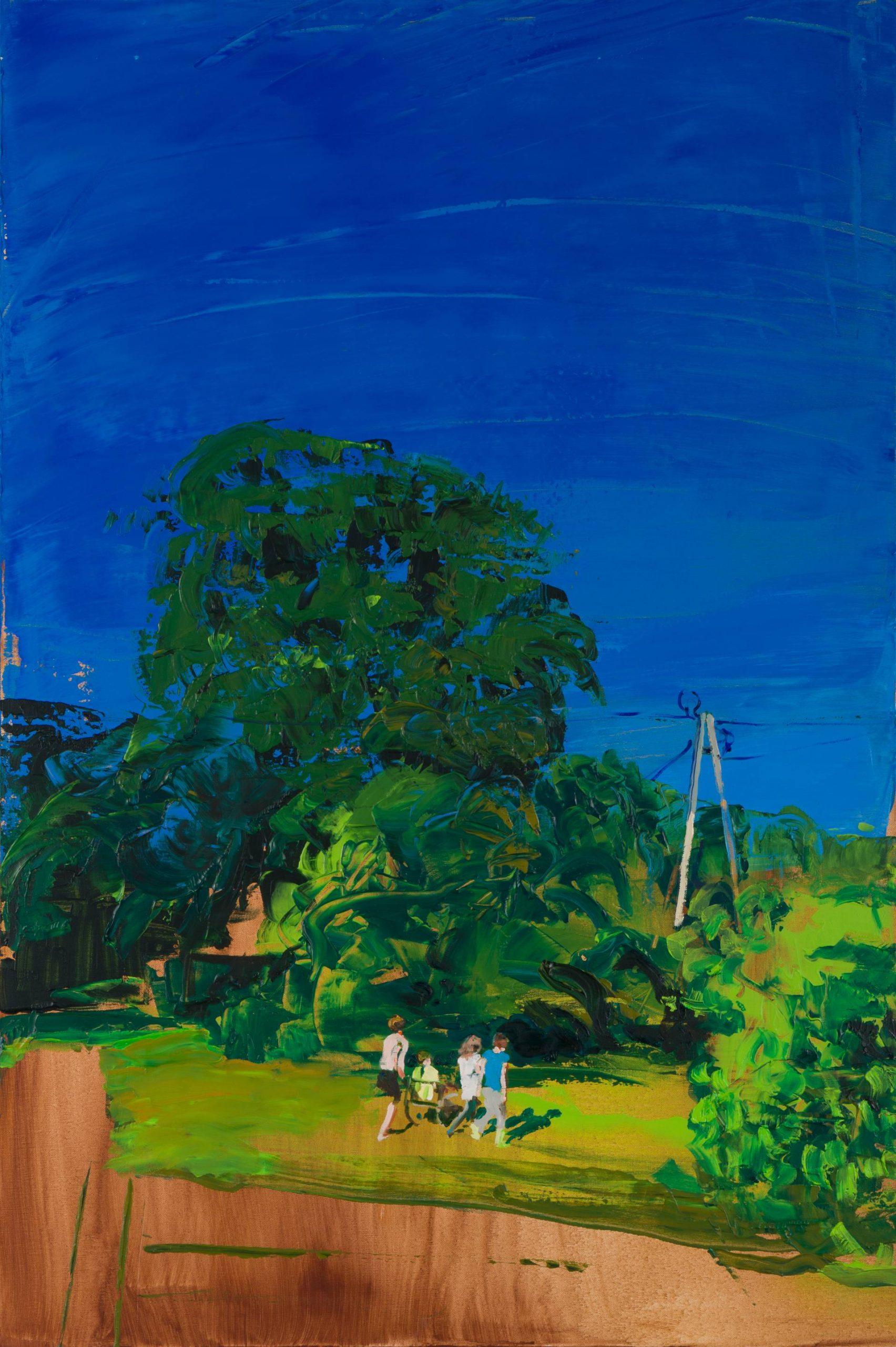 Lipowica; Painting by Grazyna Smalej